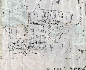 Upper Caldecote in 1783 [MA2]